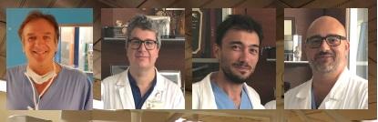 Prof Gino Gerosa - Vincenzo Tarzia - Lorenzo Bagozzi  - Augusto DOnofrio b