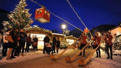 val gardena - valle di Natale delle Doolomiti