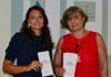dott.ssa Veronica Leonardi Presidente AICRA e dott.ssa Laura Valentini Comitato Scientifico AICRA neurochirurga Ist. Besta
