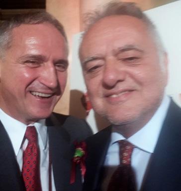 Diletto sapori con il Presidente della CCIAA di Reggio Emilia Stefano Landi