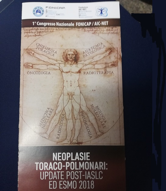 Locandina congresso neoplasie toraco polmonari