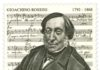 Francobollo ROSSINI