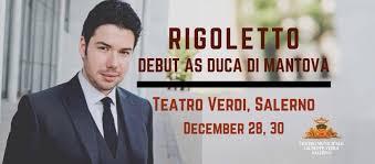 Rigoletto Antonio Poli Salerno Teatro Verdi