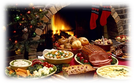 mangiare durante le feste