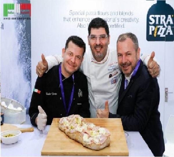 Duilio Girotto Master Pizzaiolo Massimiliano Esposito Carlo Baldelli