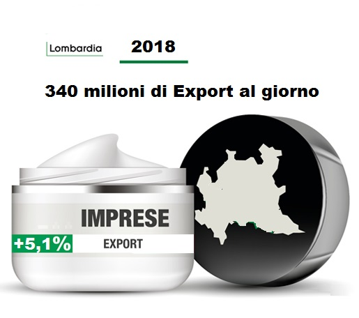Lombardia export crescita 2018