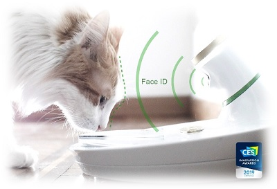 Pet hitech ciotola che riconosce animali