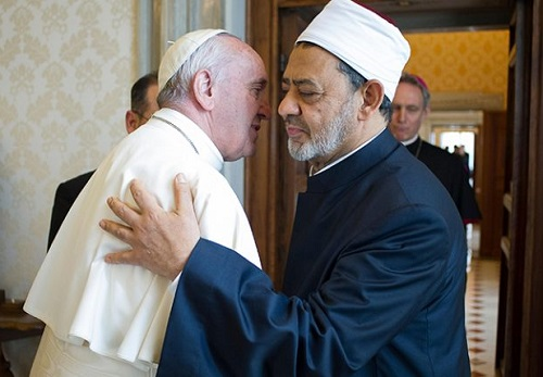 Pope Francis and Grand Imam of Al Azhar