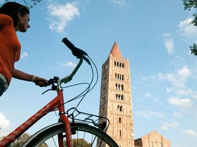 Ferrara in bici e senza bagagli