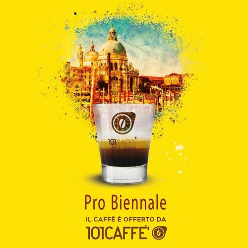 101CAFFE per Pro Biennale 2019