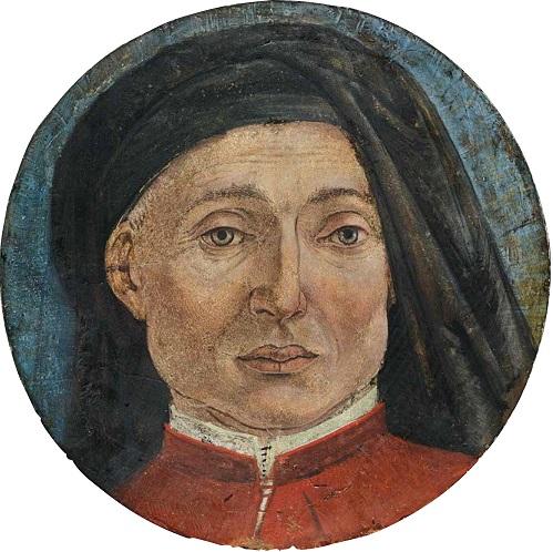 Alesso Baldovinetti Autoritratto 1470-80 circa AccademiaCarraraBergamo