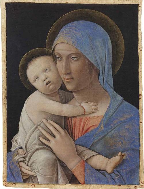 Andrea Mantegna Madonna col bambino 1485-1490 circa AccademiaCarraraBergamo