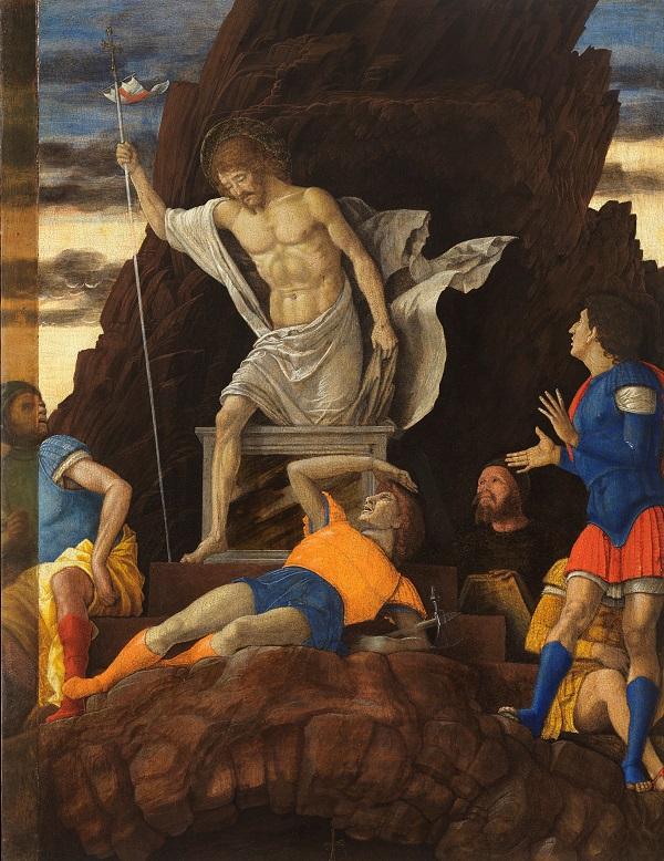 Andrea Mantegna ResurrezionediCristo 1492circa AccademiaCarraraBergamo RECTO2