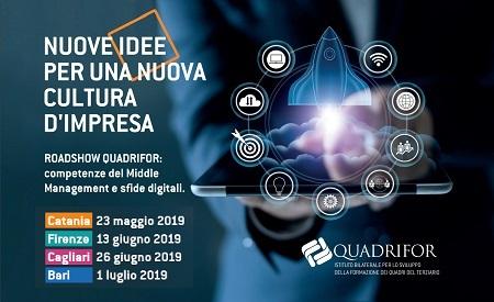 Catania Cagliari Firenze Bari 2019 - Nuove idee per una nuova cultura dimpresa