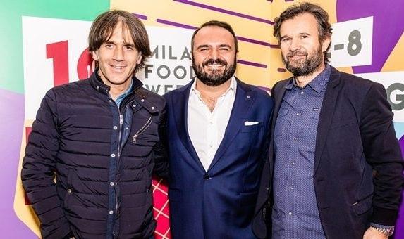 Da-sx-Davide-Oldani-Federico-Gordini-e-Carlo-Cracco