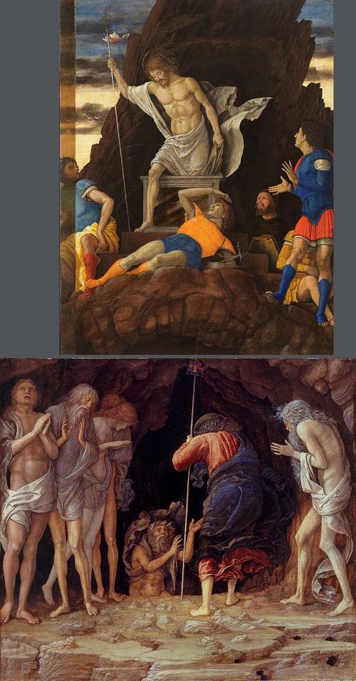 Ricostruzione dipinti ResurrezioneDiscesaalLimbo