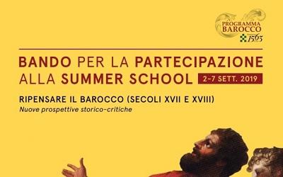 torino bando summer school 2019 fondazione 1563