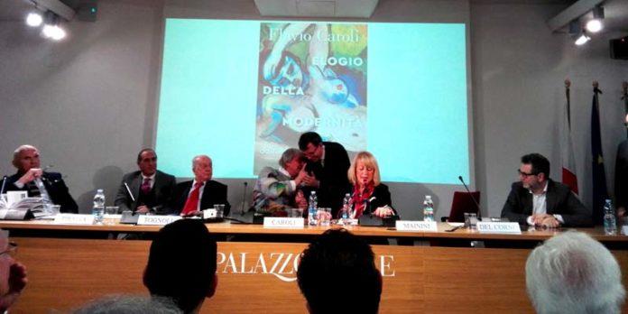 06 - Gian Arturo Ferrari, Domenico Piraina, Carlo Tognoli, Flavio Caroli, Filippo Del Corno, Daniela Mainini, Roberto Poli, Fabio Fazio