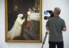 First Communion 1896 EOS Young Picasso EXHIBITION ON SCREEN