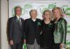 La Presidente AIOM Stefania Gori con Paola Neri Silvio Garattini e Fabrizio Nicolis