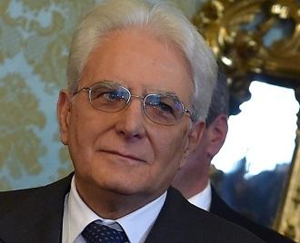 SERGIO MATTTARELLA Presidente