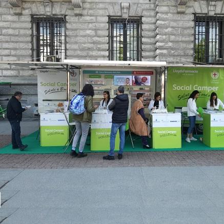 A Milano Riparte Il Viaggio Del Social Camper Di Salute E Benessere 24 Ore News