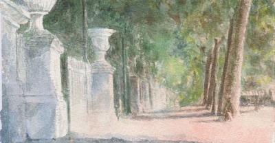 Verdi Armonie - I giardini di Roma allacquerello