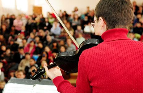 insegnante di Musica - violino