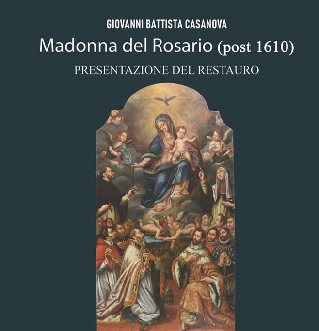 restauro madonna rosario