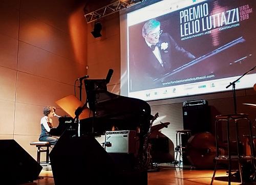 Caterina Comeglio alla Casa del Jazz Premio Lelio Luttazzi r