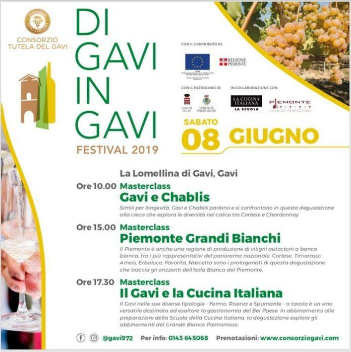 DI GAVI IN GAVI 8 GIUGNO 2019