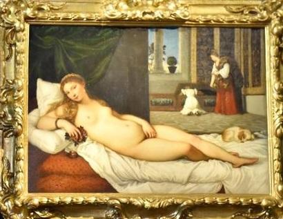 Uffizi Firenze - Venere di Urbino di Tiziano