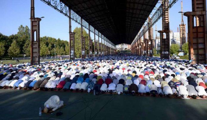 fine del ramadan - dedicata a Papa Francesco - giugno 2019
