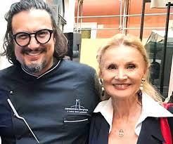 Alessndro Borghese  e la mamma Barbara Bouche