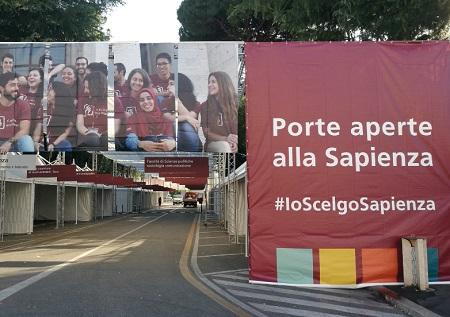 Porte aperte alla Sapienza Roma