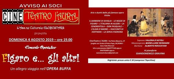 Roma CineTeatro Laura FIGARO Egli altri