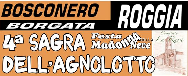 SAGRA AGNOLOTTO BOSCONERO