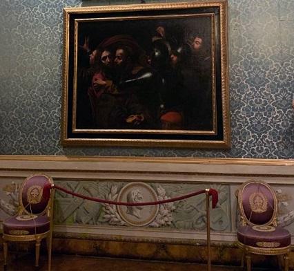 Uffizi un dipinto restaurato e un libro per capire Caravaggio