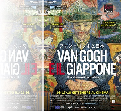 VanGogh Giappone POSTER 100x140 r