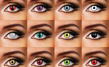 lenti a contatto colorate