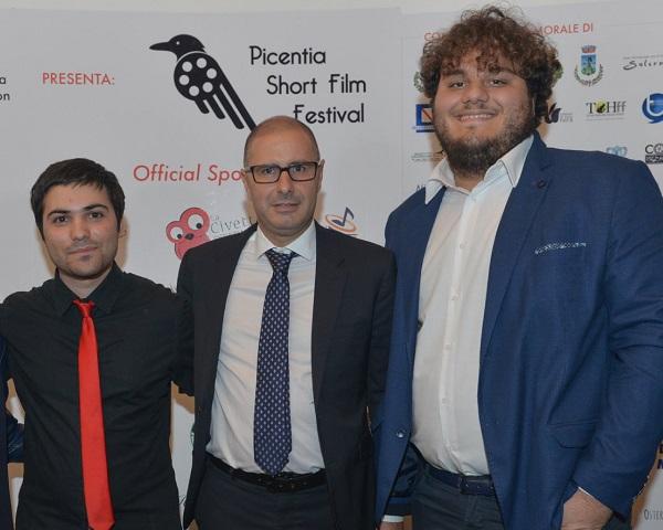 da sx. Antonio Palo, Martino D'Onofrio, Luca Capacchione