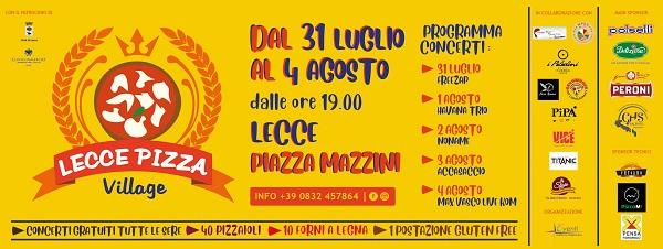 logo pizza village