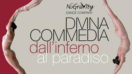 La Divina Commedia della NoGravity Dance Company a Trapani