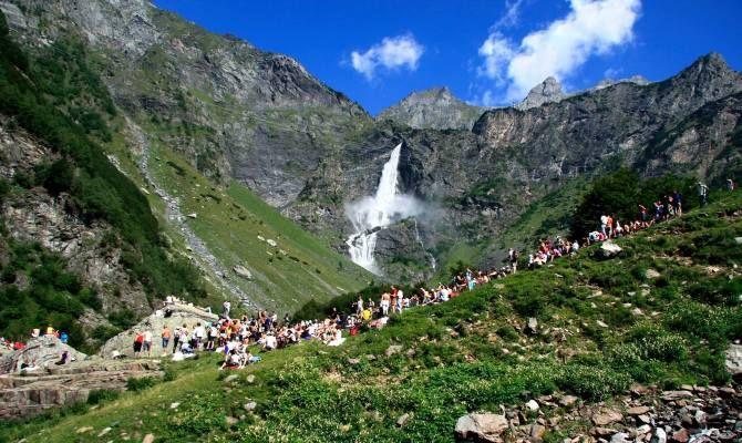 Valseriana cascate del Serio