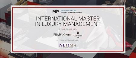 International Master in Luxury Management