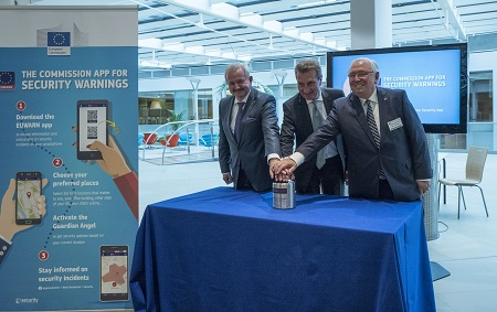 Fraunhofer development for more safety EUWARN launched