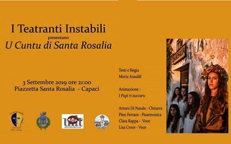 cuntu di Santa Rosalia