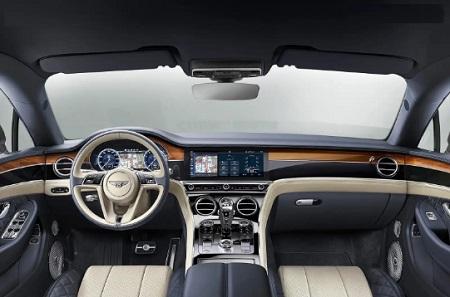 BENTLEY CONTINENTAL GT 2019 interni