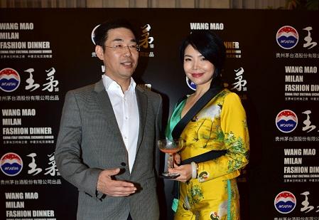 CINA ITALIA Bin Yuan CEO Wang Mao con Danna Zhou 2 r