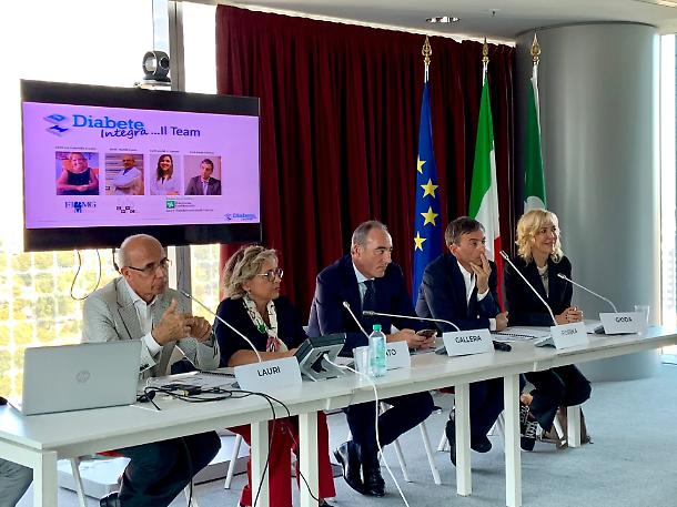 CONFERENZA STAMPA DIABETE INTEGRA
